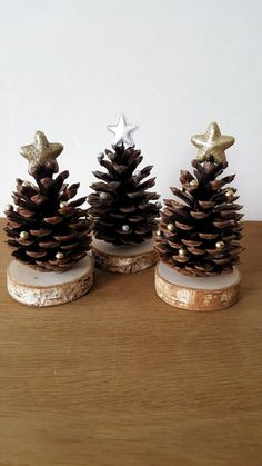 Pine cone crafts christmas decor diy cones crafts christmas crafts for kids christmas crafts rustic christmas tannenbaum auf holz craftidea org pinecone crafts 26 diy christmas pine cone crafts to add extra charm to holidays Noel Christmas, Christmas Crafts For Kids, Diy Christmas Ornaments, Homemade Christmas, Rustic Christmas, Holiday Crafts, Family Christmas, Christmas Ideas, Christmas Cactus