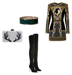 """""""Kylie"""" by dmegi ❤ liked on Polyvore featuring Edie Parker"""