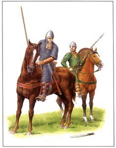 Caballeros normandos