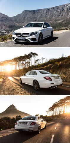 The Mercedes-Benz E-Class: Motive design meets exclusive interior. Photo by Tomi Vukosav (www.tomislavvukosav.com) for #MBsocialcar [Mercedes-Benz 220 d | Fuel consumption combined: 4.3–3.9 l/100km | combined CO₂ emissions: 112–102 g/km | http://mb4.me/efficiency_statement]