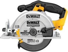 Dewalt 20-Volt Max Lithium-Ion 6-1/2 In. Blade Cordless Circular Saw (Tool-Only) #DEWALT