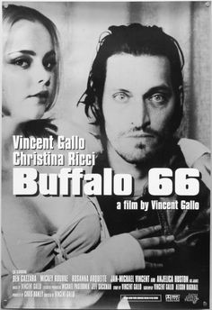 Buffalo 66 - one sheet poster - USA - Vincent Gallo - Christina Ricci Movie Poster Font, Movie Poster Template, Play Poster, Film Poster, Movie Posters For Sale, Horror Movie Posters, Christina Ricci, Buffalo 66, Arrival Movie