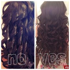 Outdated Curling Iron Ringlets Vs Modern Wand Curls Www Facebook Alysiamerrimanatchicabellasalon