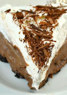 Chocolate Cream Pie Like a Delicious Hug From Grandma! This is my All-Time Favorite Chocolate Pie Recipe