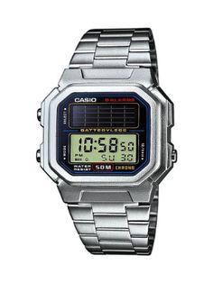 Casio retro solar lcd watch model no Retro Watches, Vintage Watches, Cool Watches, Watches For Men, Women's Watches, New Digital Camera, Digital Watch, Smartwatch, Casio Vintage