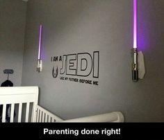 Star Wars baby room