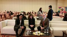 Shoaib Iqbal (Director TLA) with HE Canadian High Commissioner Heather Cruden our Guest of Honour  7th Lahore International Children's Film Festival  For more details www.thelittleart. org  #LICFF #TLAorg #opening #livestream #Lahore #Pakistan #MediaLitercy #ArtThroughMedia #Education