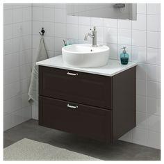 Small Home Style: Small Bathroom Vanity Ideas Bathroom Vanity Makeover, Rustic Bathroom Vanities, Bathroom Ideas, Bathroom Cabinets, Vanity Bathroom, Modern Bathrooms Interior, Bathroom Interior Design, Interior Ideas, Home Decor Hooks