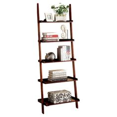 You Should See This Quint Ladder Bookcase In Cherry On