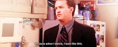 Because when Chandler dance..