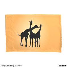Flirty Giraffe Pillo