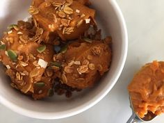 nesscooks: Spiced Sweet Potato Gelato