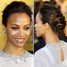 Easy Celebrity Updos  #dailyglow