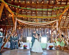 Beautiful wedding gardens & lawns, Historic Barn Reception Venue, and indoor all-season Solarium make this the perfect site for your Gettysburg wedding. Weddings for 140 guests complete with tables, chairs, table cloths, DJ, changing room, public bathrooms, & wedding coordinator. Elopement packages.
