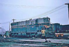 Central of Georgia diesel in yard