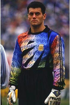 Sergio Goycochea best goalkeeper in 1990 finals Football Kits, Football Jerseys, Old Boys, Fifa, Argentina Football Team, Goalkeeper Kits, Argentina National Team, Sexy Golf, Different Sports