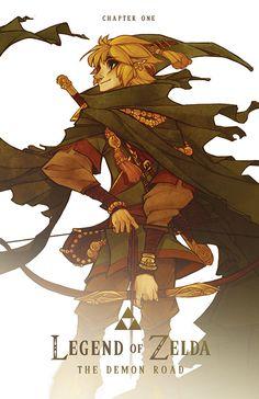 The Legend of Zelda: The Demon Road | Comics - CH1 Cover