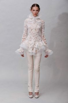 Marchesa Fall 2011 Collection - Fashion | Popbee