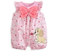 Disney Baby Lady and The Tramp #babyclothesdisney