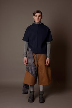 Traditional Menswear With a Twist From Siying Qu - Gallery - Style.com