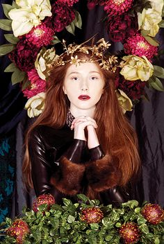 ❀ Flower Maiden Fantasy ❀ beautiful photography of women and flowers - PRE-RAPHAELITE - Pixels and Petticoats