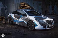 Оклейка пленкой Opel Insignia