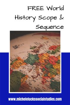Download this free Scope & Sequence for World History to save you time and energy in planning for your classes this fall. Geography Lessons, Teaching Geography, Curriculum Mapping, Essential Questions, High School Classroom, Unit Plan, Teaching Strategies, Learning Environments, World History