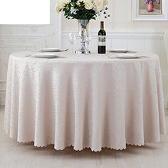 GXX Hotel tablecloth/Hotel/Restaurant Round tablecloths/pure color table cloth/Continental Square tablecloths/ table cloth-H diameter220cm(87inch)