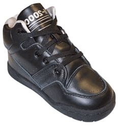 Markell Black Hi-Top Athletic Shoe, TM2000 Series - Click to enlarge