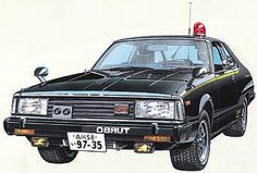 西部警察 Machine X (1980) - Nissan Skyline