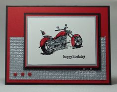 Motorcycle Madness by darhm - Cards and Paper Crafts at Splitcoaststampers