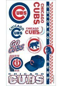 Chicago Cubs MLB Temporary Tattoos (10 Tattoos) by Caseys. $8.97. What a fun way to show your team spirit! Each package includes one sheet of 10 tattoos. The tattoos are completely safe non-toxic hypo-allergenic and all ingredients are FDA regulated . They last for days and can be easily removed with household rubbing alcohol or baby oil.Made by WinCraft.. Save 73%!