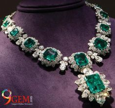 #Emeralds #jewelry embed with #diamonds will always raise your status in society