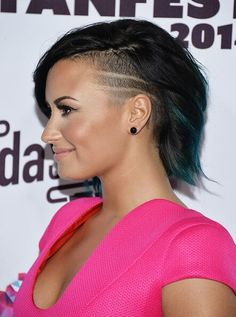 Demi Lovato at Vevo's certified SuperFanFest red carpet. #VCSFF - October 8th