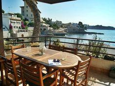 Härlig lägenhet med stor terrass och havsutsikt i Illetas