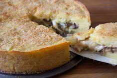 Scopri la ricetta per preparare il gateau di patate con funghi, speck e scamorza, un piatto unico gustoso e semplice da realizzare.