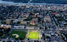 Winona State University - Winona, MN on the Mississippi River