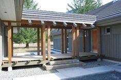 Residential Covered Walkways | Covered walkway connecting house & garage | Riverside Renovations