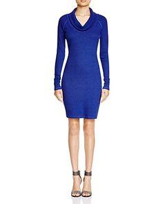 THREE DOTS Cowl Neck Dress. #threedots #cloth #dress