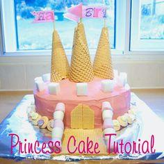 Princess Cake Tutorial