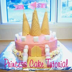 Princess Cake Tutorial - so uber cute! (and I think I could even do this and not mess it up!!)