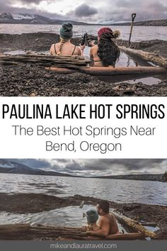 Paulina Lake Hot Springs - One of the best things to do in Bend, Oregon is visit all the hot springs in the area. Central Oregon has some of the best hot springs in the USA. Check out Paulina Lake Hot Springs near Bend, Oregon. Oregon Vacation, Oregon Road Trip, Bend, Oregon Trail, Central Oregon, Oregon Coast, Oregon Washington, Pacific Coast, Portland Oregon