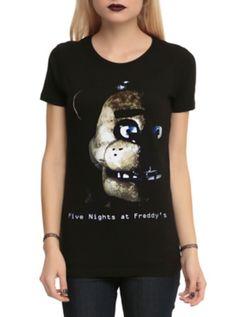 Five Nights At Freddy's Freddy Fazbear Girls T-Shirt