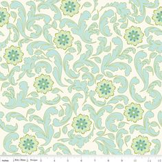 Emily Taylor - Verona - Damask in Teal
