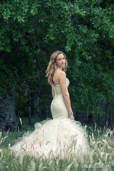 Senior Portrait Photography - Prom Dress