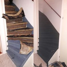trap renovatie met pvc Trap, Stairs, Home Decor, Stairway, Decoration Home, Room Decor, Staircases, Home Interior Design, Ladders