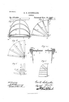 1887 Bustle Patent US373689 - BUSTLE - Google Patents
