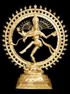 Shiva-nataraja The uplifted foot indicates revelation.