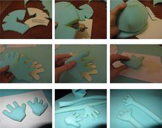 Dos Princeses - Aprendre amb Montessori: Una titella a la familia Felt Puppets, Felt Finger Puppets, Hand Puppets, Puppet Patterns, Doll Patterns, Ventriloquist Puppets, Types Of Puppets, Puppet Tutorial, Puppet Crafts