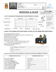 English worksheet: Greetings and Farewells